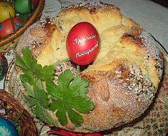 Великденски козунак със стафиди